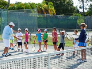 beginner and intermediate junior tennis, sarasota, fl