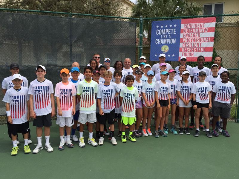 USTA Junior Tennis Camp