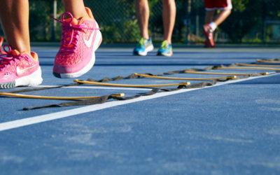 Having efficient footwork key to success