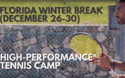 High Performance Winter Break Tennis Camp